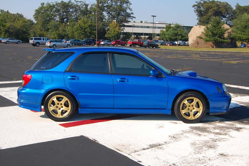 Ma 2002 Wrblue Wrx Wagon With Sti Parts Galore